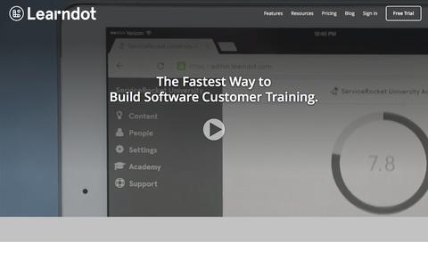 Learndot | Customer Training LMS