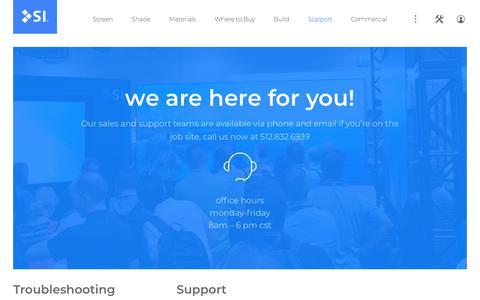 Screenshot of FAQ Page screeninnovations.com - FAQs | Screen Innovations - captured Sept. 19, 2018