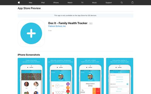 Doc It - Family Health Tracker on the AppStore