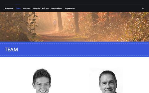 Screenshot of Team Page pefitra.de - Team   pefitra.de - captured May 23, 2018