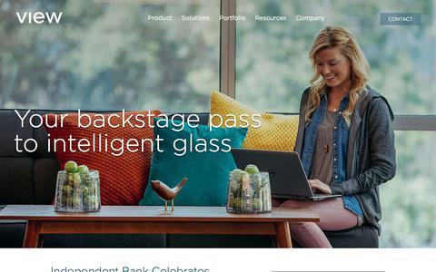 Screenshot of Blog viewglass.com - Blog | View Dynamic Glass - captured Sept. 22, 2018