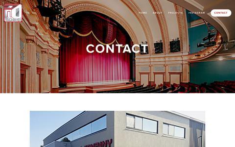 Screenshot of Contact Page sobieco.com - Contact — Sobie Company - captured Oct. 19, 2018