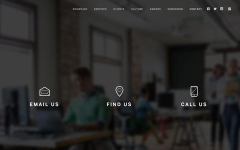 Screenshot of Contact Page adlab.co.za - Adlab Advertising | Contact - Adlab Advertising - captured Feb. 5, 2016