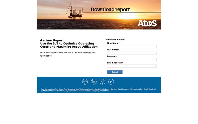 Use the IoT to Optimize Operating Costs and Maximize Asset Utilization