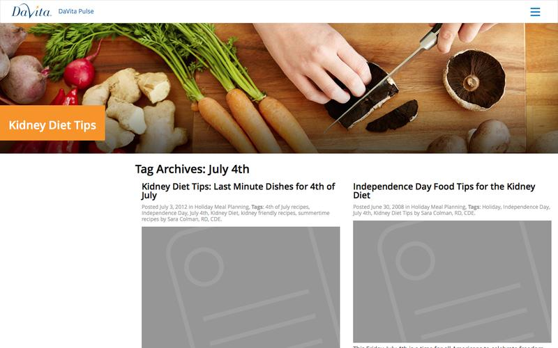 July 4th Archives - Kidney Diet Tips
