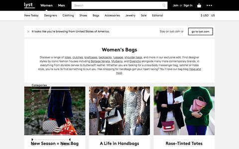 Bags, Handbags, Totes,  Clutches & Shoulder Bags | Lyst