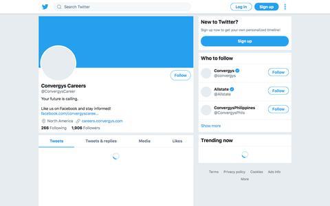 Tweets by Convergys Careers (@ConvergysCareer) – Twitter