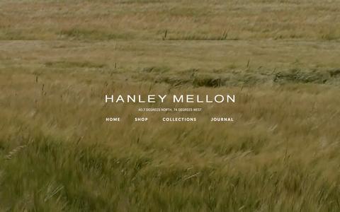 Screenshot of Home Page hanleymellon.com - HANLEY MELLON Home - HANLEY MELLON - captured Sept. 26, 2014