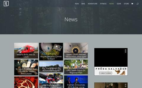 Screenshot of Press Page terrain-mag.com - News | Terrain Magazine - captured Feb. 24, 2016