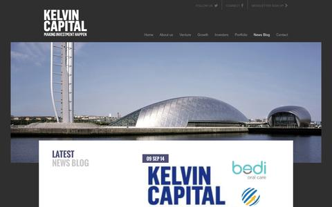 Screenshot of Press Page kelvincapital.com - Latest News Blog - Kelvin Capital Financial Investment, Investment Opportunities, Investment Advice - captured Sept. 30, 2014