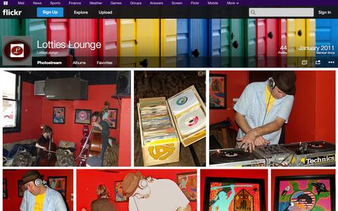 Screenshot of Flickr Page flickr.com - Flickr: LottiesLounge's Photostream - captured Oct. 22, 2014