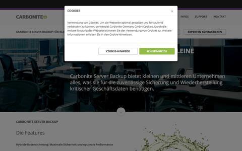 Backup Software - Sicherheit für Geschäftsdaten | Carbonite