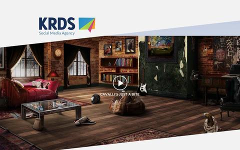 Screenshot of Home Page krds.com - KRDS - Social and Mobile  Agency - captured Sept. 24, 2014