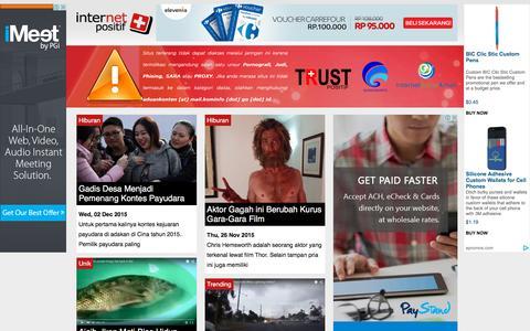 Screenshot of Home Page internet-positif.org - Internet Positif - captured Dec. 2, 2015