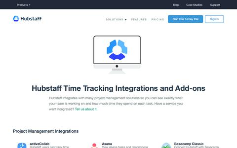 Time Tracking Integrations and Add-Ons | Hubstaff