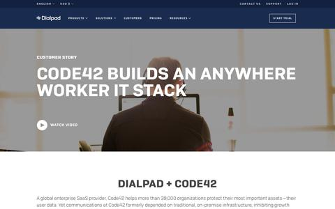 Code42 Completes its Anywhere Worker IT Stack with Dialpad | Dialpad | Dialpad