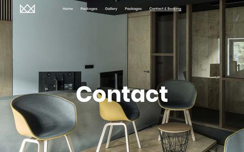 Screenshot of Contact Page dhm.co.id - Contact – DHM - captured Nov. 9, 2018