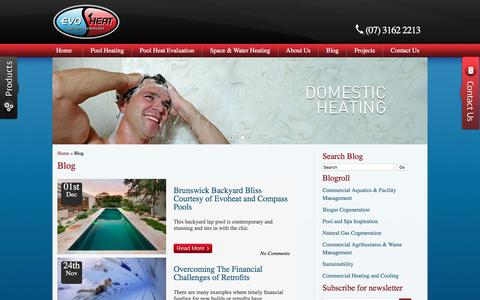Screenshot of Blog evoheat.com.au - Evoheat: Industry Blog - captured Nov. 11, 2016