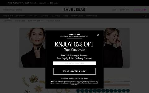 Build Your Own Set - What's New   BaubleBar