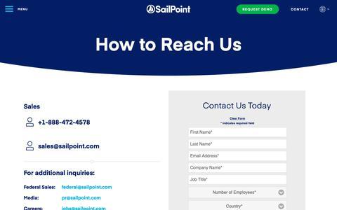 sailpoint com's Web Marketing Designs | Crayon