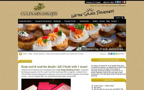 Screenshot of Terms Page cateringspecialist.com - Keep cool & read the details- kill 2 birds with 1 stone! - CateringSpeclialist.com - captured Sept. 30, 2018