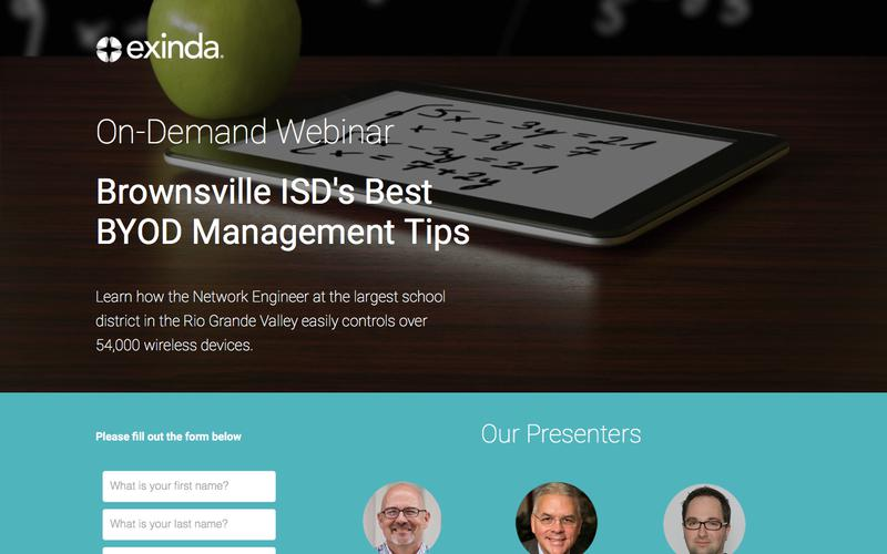 BYOD Management Tips from Brownsville ISD | Exinda
