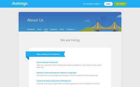 Duolingo - Jobs