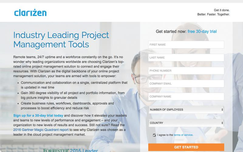 Project Management Tools l Clarizen