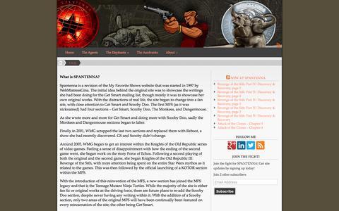 Screenshot of FAQ Page spantenna.com - F.A.Q � SPANTENNA - captured Dec. 14, 2015