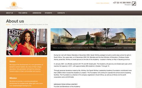 Screenshot of About Page owla.co.za - EDU - Educational and Courses Boostrap site template - captured Oct. 7, 2014