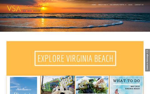 Screenshot of Blog vsaresorts.com - VSA BLOG – VSA Resorts - captured Oct. 20, 2018