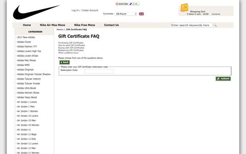 Screenshot of FAQ Page edinburghcityproperties.co.uk - Gift Certificate FAQ : Wholesale Top Quality Nike Free Run Shoes - Cheap Nike Free Trainers Cheap Outlet Online - captured May 15, 2017