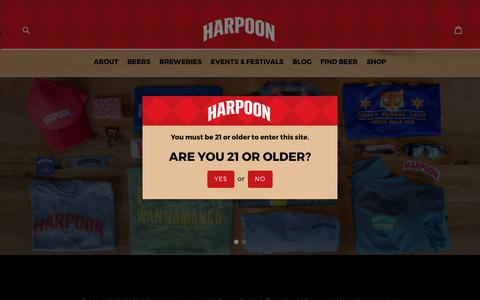 Harpoon Shop                      – Harpoon Brewery eStore