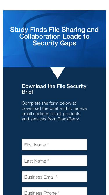 File Sharing & Collaboration – Security Gaps