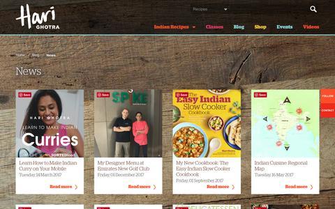 Screenshot of Press Page harighotra.co.uk - News - captured July 16, 2018