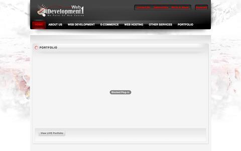 Screenshot of Home Page web-development-1.com - Web development services india | Web development outsourcing india | Indian web development company | Outsource web development company - captured May 26, 2016