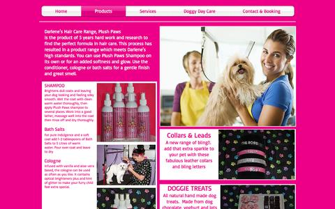 Screenshot of Products Page poochies.com.au - Poochies Products - captured April 12, 2017