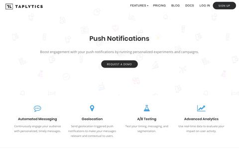 Push Notifications - Taplytics