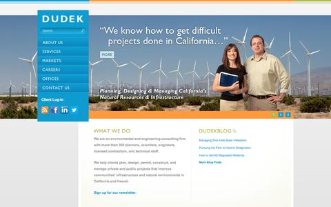 California Environmental Consultants - Dudek
