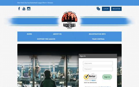 Screenshot of Login Page bluesombrero.com - Login/Register - captured Feb. 23, 2018
