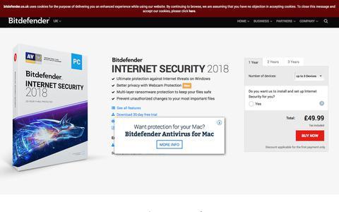 Bitdefender Internet Security 2017 - Internet Security Software