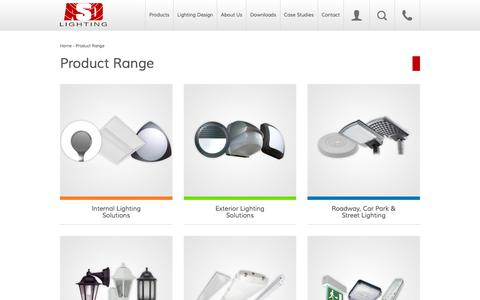 Screenshot of Products Page asdlighting.com - Products Archive - ASD Lighting plc - captured Nov. 13, 2015