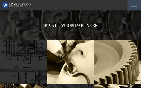 Screenshot of Press Page ipval.com - News - IP Valuation Partners - captured Feb. 3, 2016