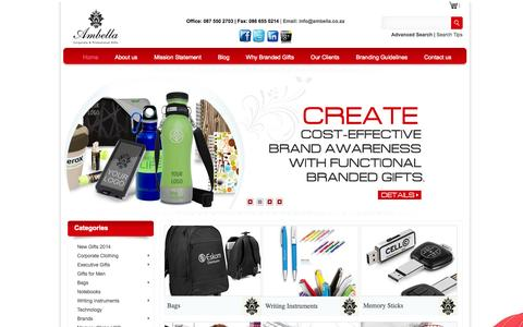 Corporate Gifts, Promotional Products & Clothing | Ambella