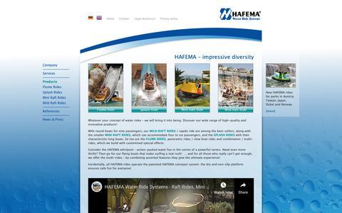 Screenshot of Products Page hafema.de - Products: HAFEMA - captured Oct. 25, 2018