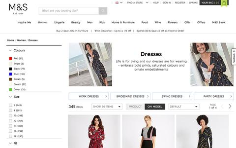 Ladies Dresses | Dress Collection for Women | M&S