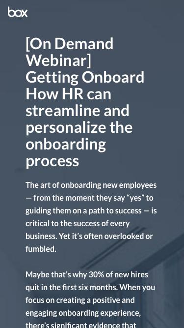 How HR can streamline and personalize the onboarding process