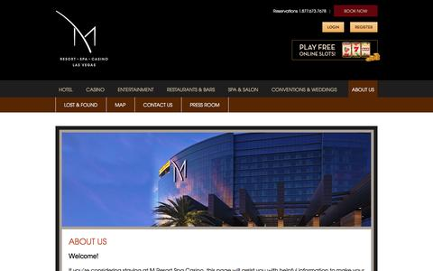 About Us | M Resort Spa Casino