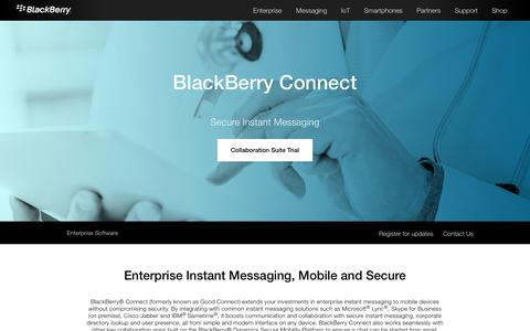 Secure EIM - BlackBerry Connect from BlackBerry - United States