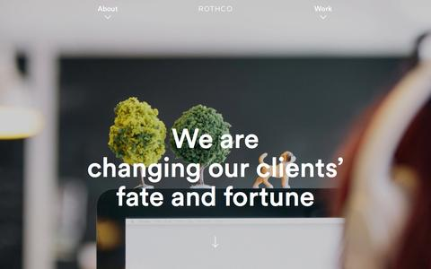 Screenshot of About Page rothco.ie - Rothco | About - captured Jan. 11, 2016